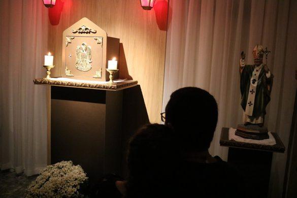 Entronização do Santíssimo na Capela da Comunidade Ágape