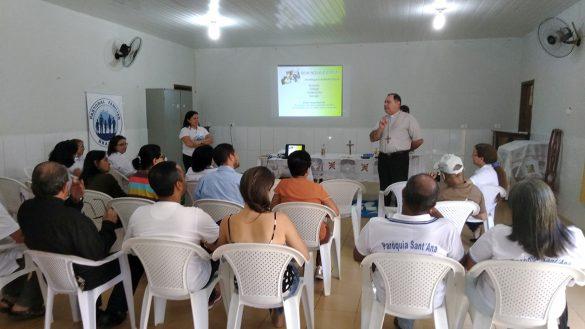 Pastoral Familiar realiza o Curso do INAPAF em Coroaci