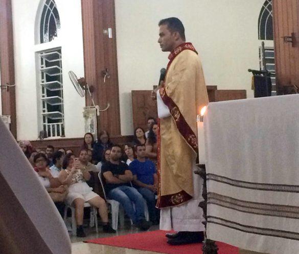 Posse do Padre Márcio na Paróquia de Sardoá