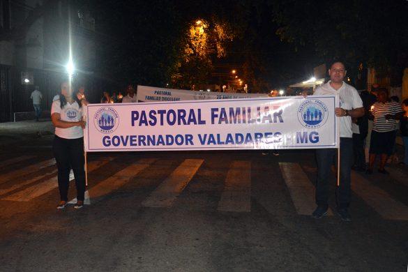 Caminhada e Missa Encerrando a Semana da Família