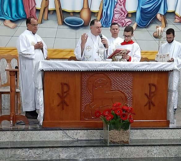 Dom Félix celebra Missa na Novena de São Raimundo