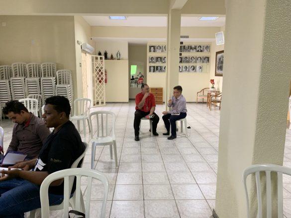 Reunião do Setor Juventude no Salão das Damas