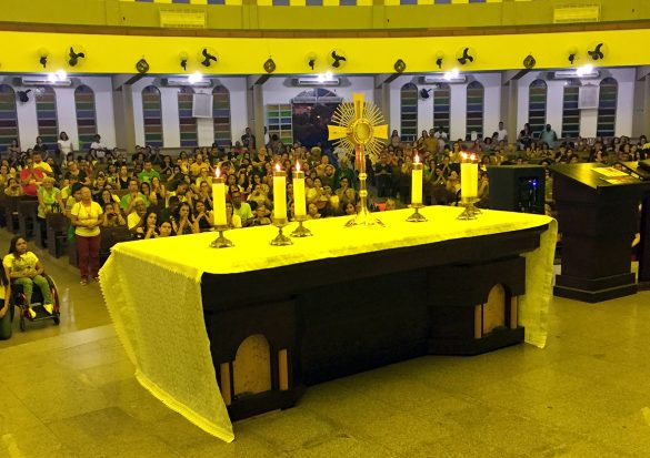 RCC realiza o 30º Cenáculo na Paróquia Sagrada Família