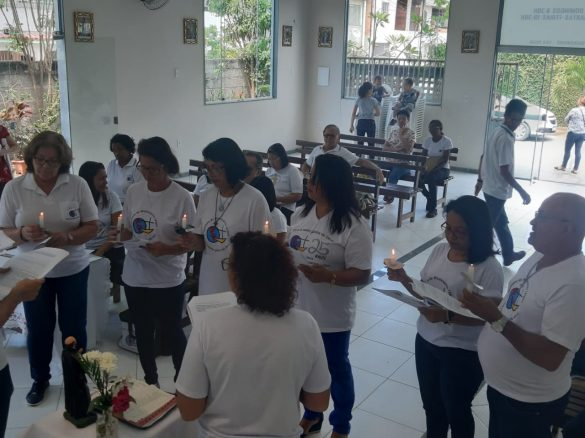 """Membros do Instituto de Missionários Leigos de Valadares realizam """"Visita Missionária"""""""