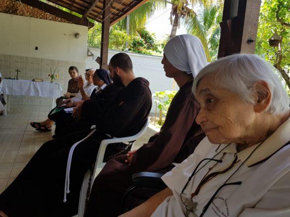 Dom Félix celebra Missa na Reunião do Núcleo da CRB