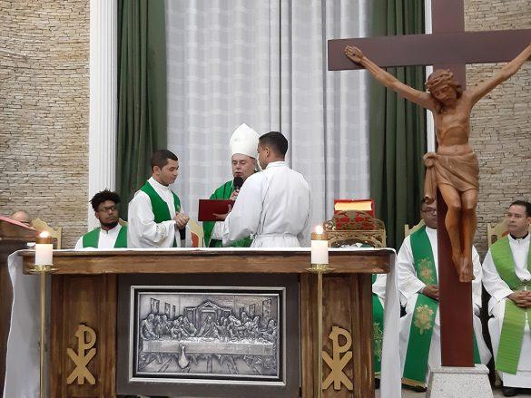 Dom Félix dá Posse ao Pe. Sebastião em Santa Rosa