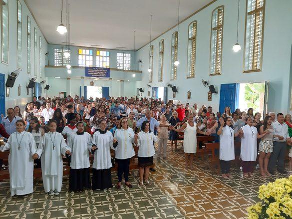 Paróquia de Nacip Raydan celebra 50 Anos de sua Criação