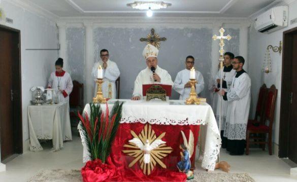 Dom Félix faz Crismas na Paróquia de Guadalupe