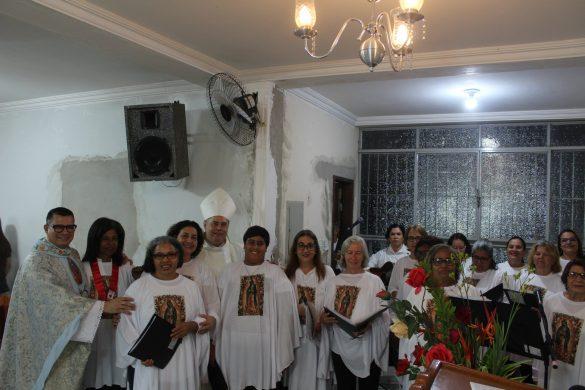 Missa na Festa da Padroeira na Paróquia de Guadalupe