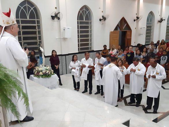 Missa na Novena da Padroeira na Paróquia do Jardim Ipê
