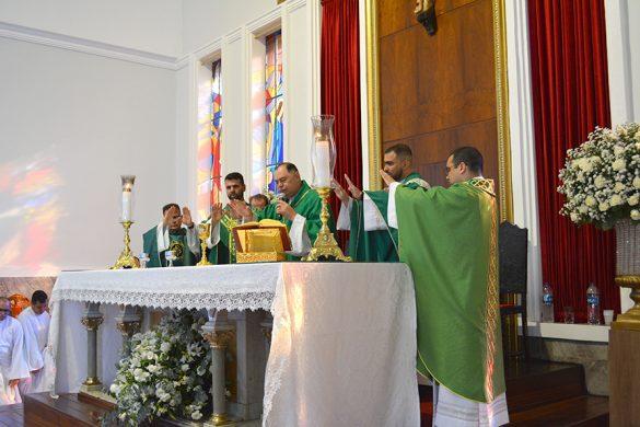ENCERRAMENTO DA PEREGRINAÇÃO DO ÍCONE DO APOSTOLADO DA ORAÇÃO