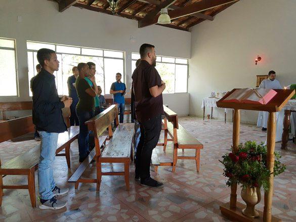 Seminaristas participam do Retiro Espiritual