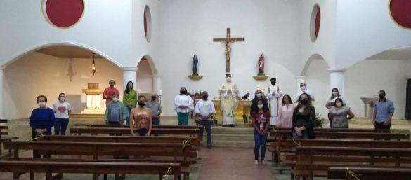 MISSA DO SAGRADO CORAÇÃO DE JESUS NO JARDIM DO TREVO