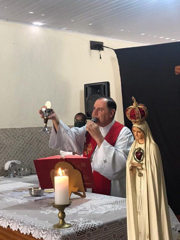 Dom Félix celebra na Nova Sede da Comunidade Ágape
