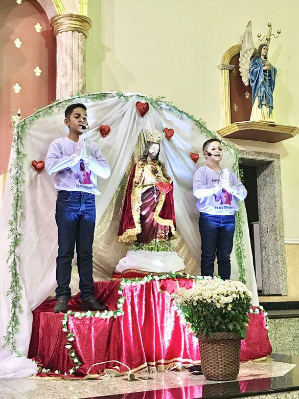 MISSA DO SAGRADO CORAÇÃO DE JESUS EM CONSELHEIRO PENA