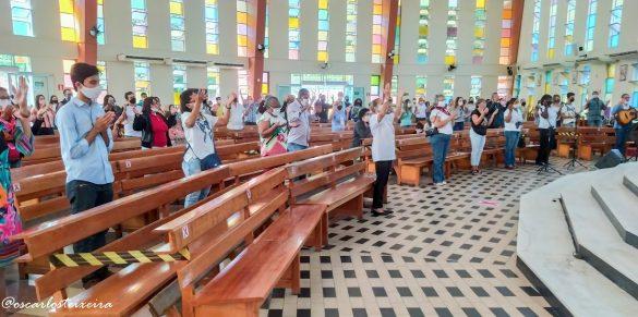 CELEBRAÇÃO DE CORPUS CHRISTI NA PARÓQUIA DE LOURDES