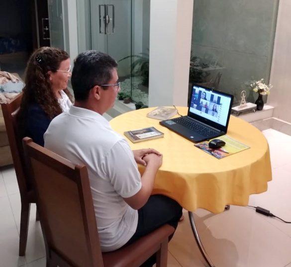 PASTORAL FAMILIAR REALIZA PREPARAÇÃO ONLINE DOS NOIVOS