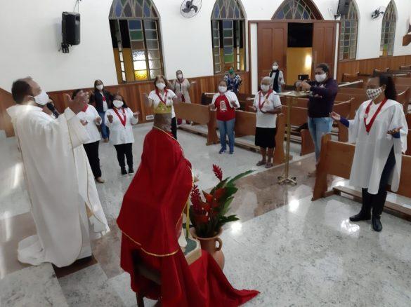 MISSA DO SAGRADO CORAÇÃO DE JESUS EM AÇUCENA