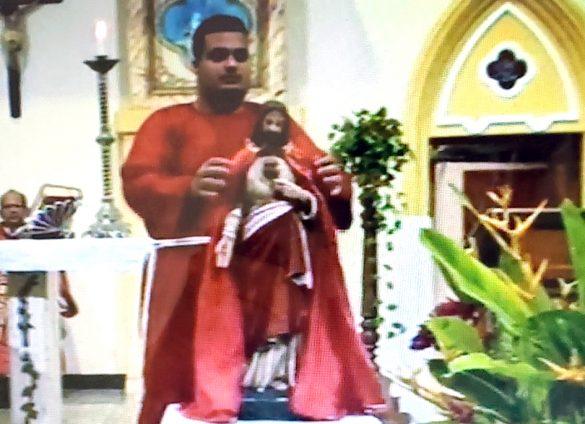 MISSA DO SAGRADO CORAÇÃO DE JESUS EM AIMORÉS