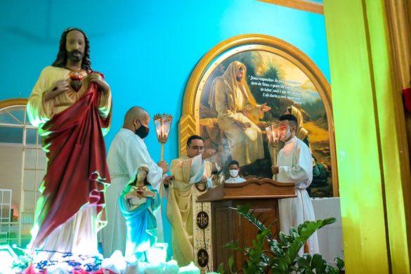 Missa do Sagrado Coração de Jesus no Conjunto SIR