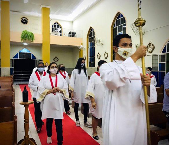 Missa do Sagrado Coração em Goiabeira