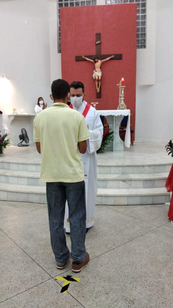 Missa do Sagrado Coração de Jesus em Ituêta