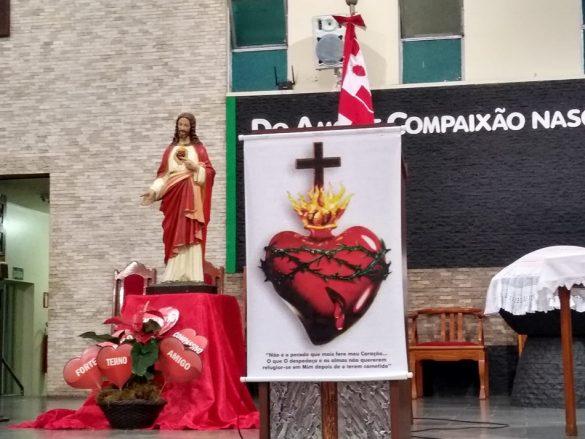 MISSA DO SAGRADO CORAÇÃO DE JESUS EM LOURDES