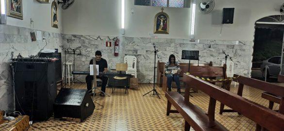Missa da Solenidade do Sagrado Coração de Jesus em Virgolândia