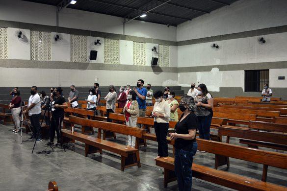 MISSA DA FESTA DE SÃO CRISTÓVÃO NA PARÓQUIA DA VILA ISA