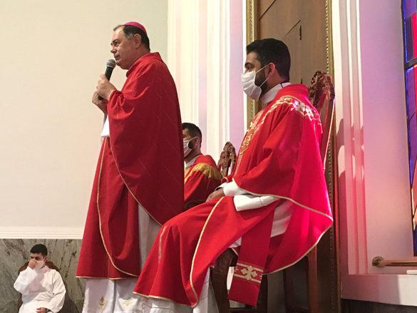 Missa pelos Dez de Sacerdócio de Pe. Luiz e Pe. Rodrigo