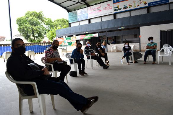 Reunião do CDP na Paróquia da Ilha