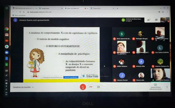 Palestra online sobre sinais comportamentais do suicídio