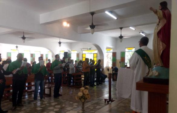 Dom Félix celebra na ADQF Cidade dos Meninos