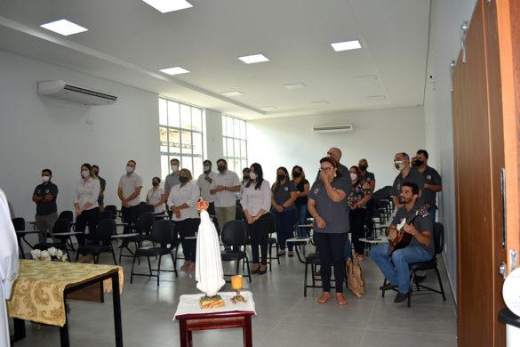 Missa com Servidores da Mitra e da Rádio no Instituto