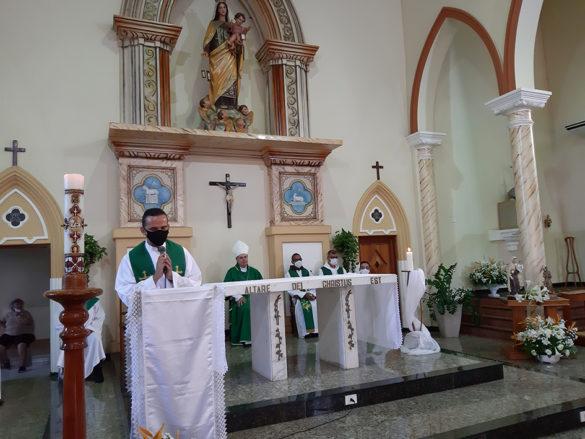 Posse de Frei João Ricardo como Pároco em Aimorés