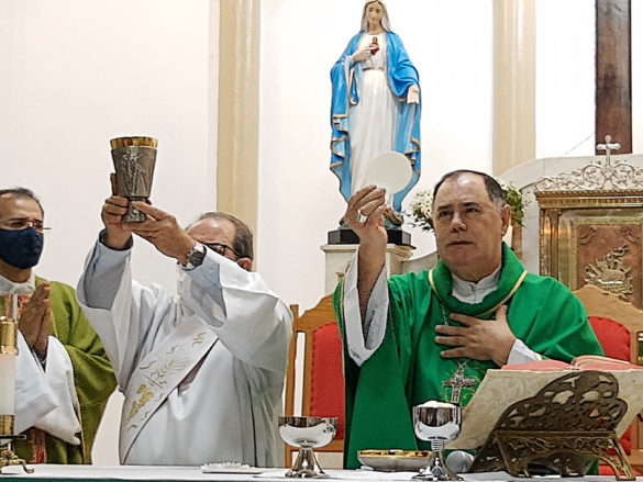 Posse de Padre Anderson José como Pároco em Itanhomi