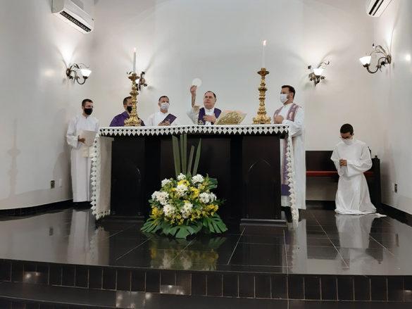 Posse de Padre Marcos Alves como Pároco do Altinópolis