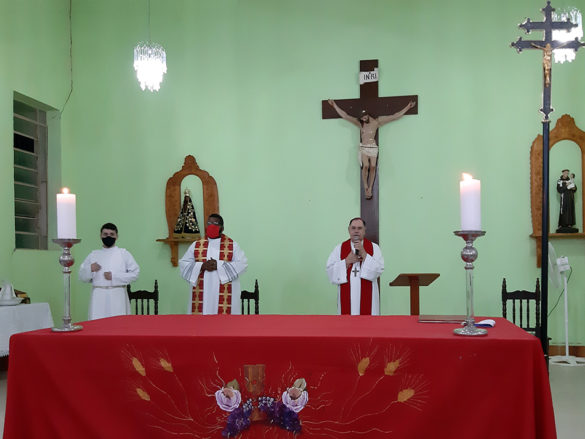 Crisma na Paróquia Santo Antônio em Naque