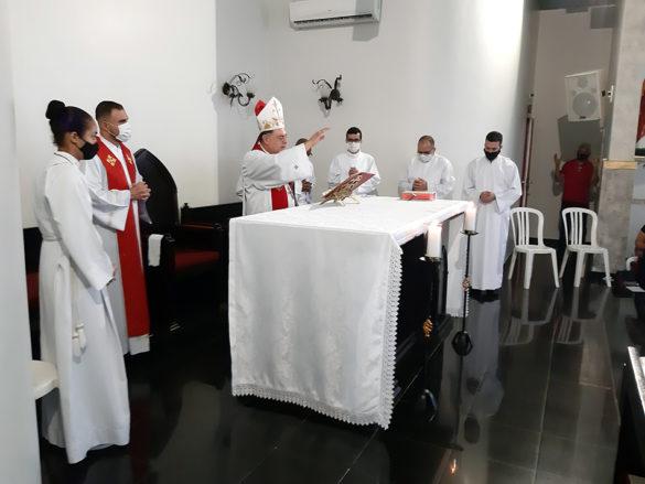 Crisma na Paróquia Sant'Ana do Altinópolis