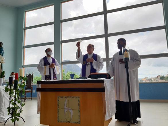 Missa na Comunidade Imaculada Conceição