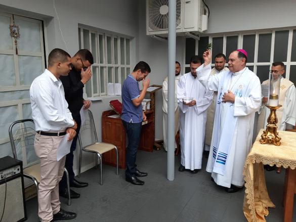 Missa de Encerramento do Ano Formativo no Seminário