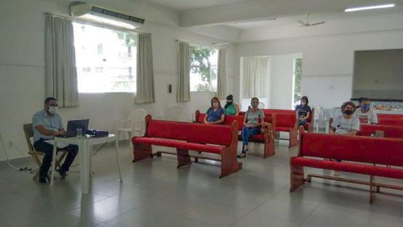 Reunião do CDP No Salão da Catedral