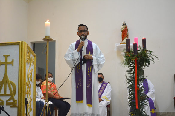 Posse de Padre Luiz Carlos como Pároco do Jardim Ipê