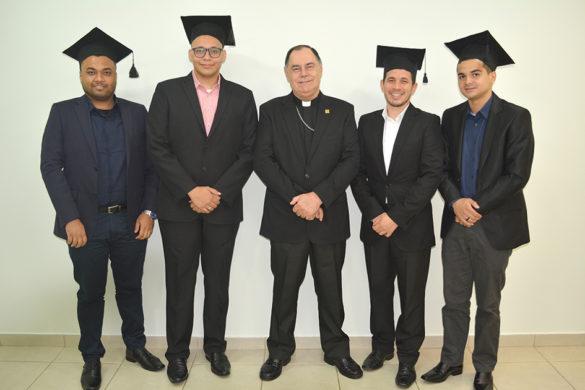 Formatura do Curso de Filosofia na Faculdade de Mariana