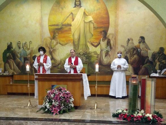 Crisma na Paróquia Nossa Senhora das Graças