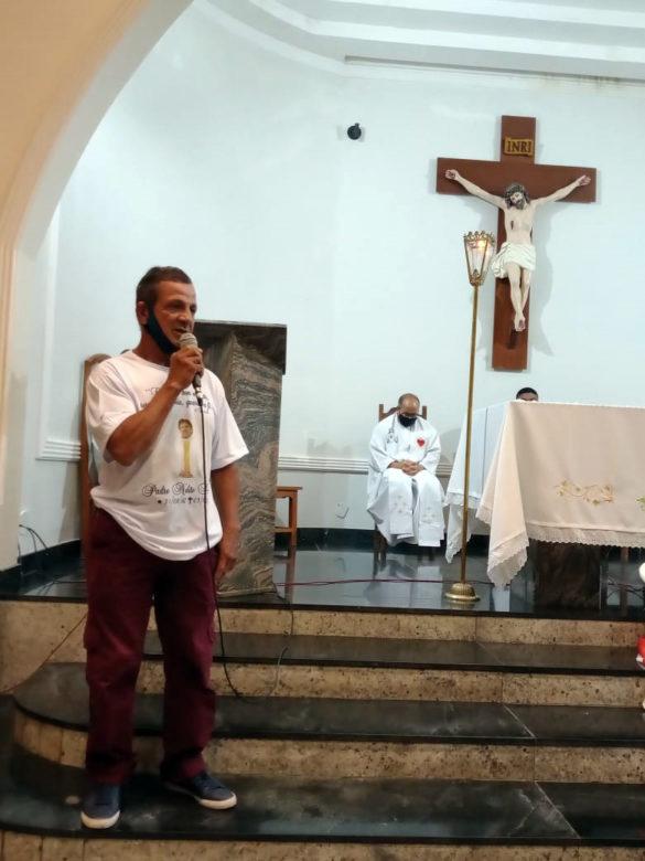 Missa de 7º Dia do Pe. Nelito Dornelas na Vila dos Montes