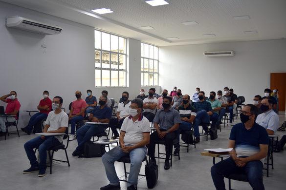 Reunião com Professores e Alunos da Escola Diaconal