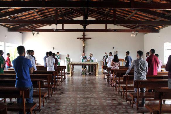 Missa de Abertura do Ano Formativo no Centrel