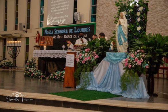 Paróquia de Lourdes celebra a Festa da Sua Padroeira