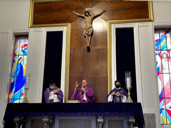 Missa de Cinzas e de Abertura da CF-2021 na Catedral